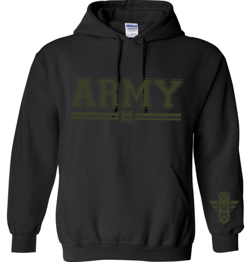 PULLOVER HOODIE ARMY