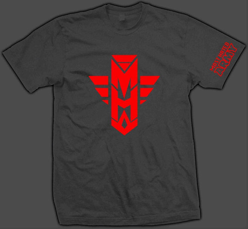 MH ARMY OD RED