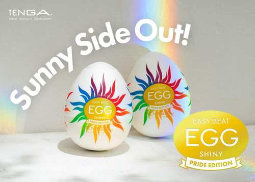 Tenga Easy Beat Egg Shiny - PRIDE EDITION