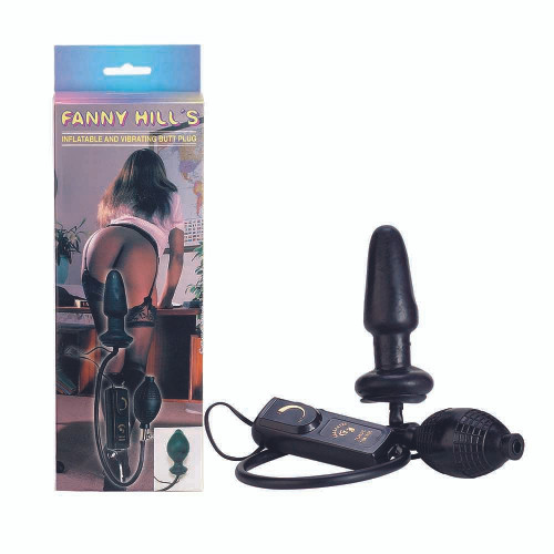Fanny Hills Inflatable and Vibrating Butt Plug