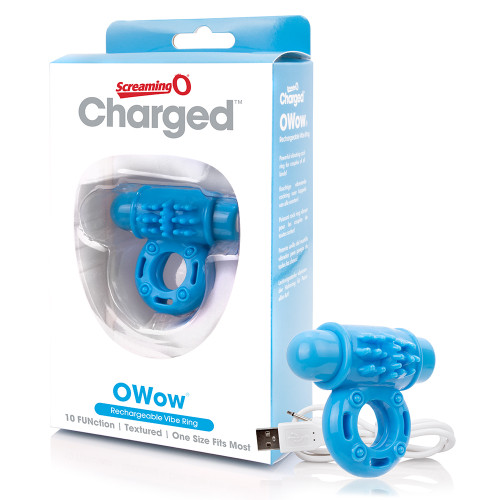 Charged OWow Vooom Mini Vibrating Cock Ring