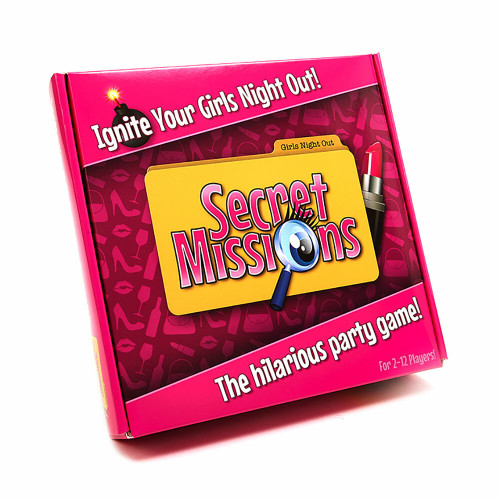 Secret Missions Girls Night Out Game