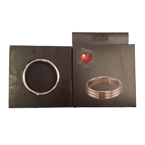 Desir 3 Decorative Ridges Cock Ring (50mm)