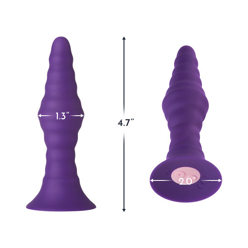 Femme Funn Pyra Small Butt Plug (Dark Purple)