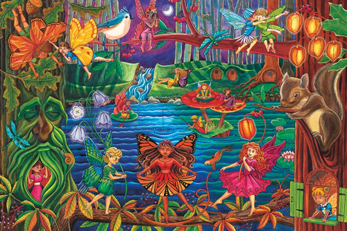 Fairy Forest Floor Puzzle
