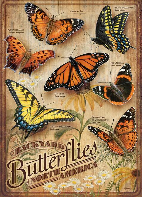 Backyard Butterflies 500 piece