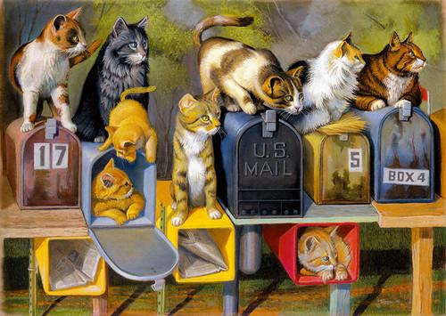 Cat's Got Mail 300 pc