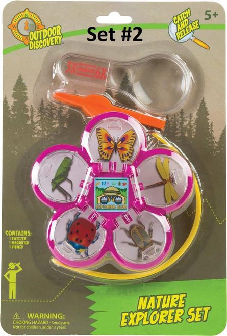 Nature Explorer Set - Tweezer, Magnifier, Viewer