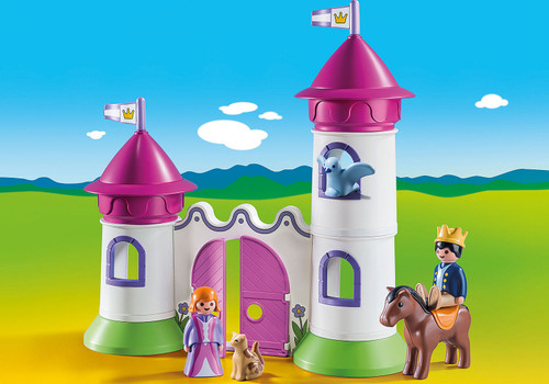Castle With Stackable Towers 1,2,3