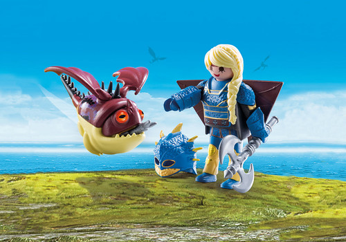Astrid with Flight Suit and Hobgobbler