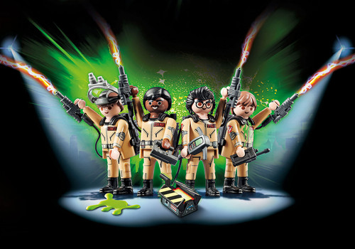 Ghostbusters Figures Set Ghostbusters