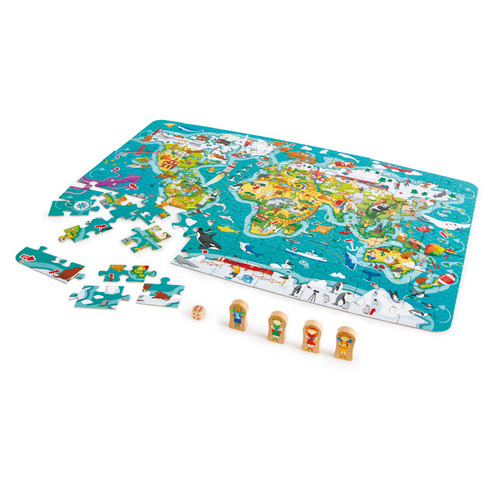 2-in-1 World Tour Puzzle and Game