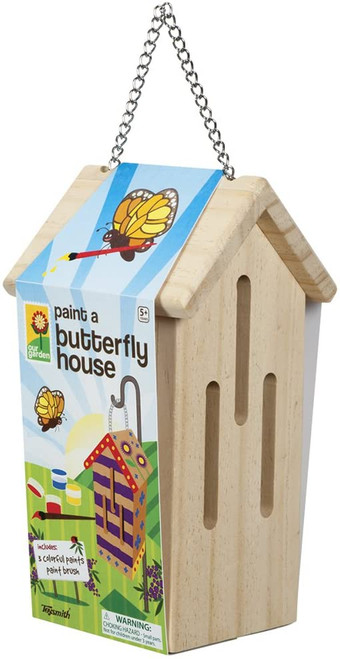 Paint a Butterfly House