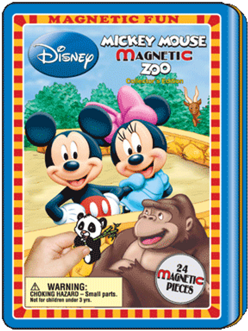 Magnetic Tin Mickey Mouse Zoo