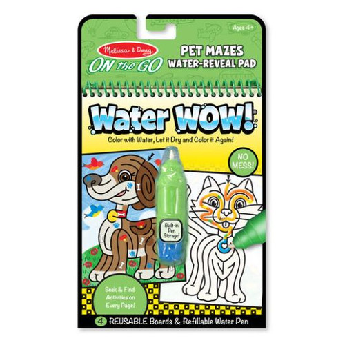 Water Wow! Pet Mazes Water Reveal Pad