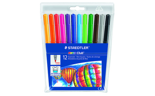 Staedtler Noris Club Markers 12 Pack