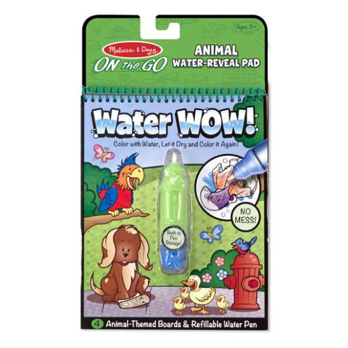 Water Wow! Animals - On the Go Water Reveal Pad