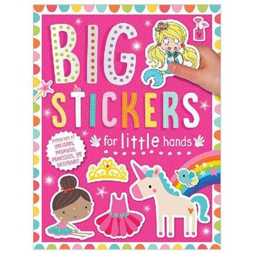 Big Stickers For Little Hands - Pink Paperback