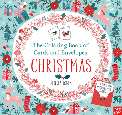 Coloring Book Of Cards Christmas