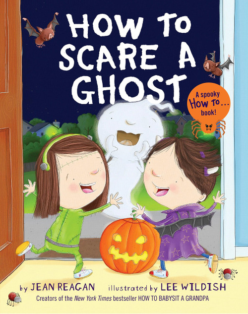 How To Scare A Ghost Board Book