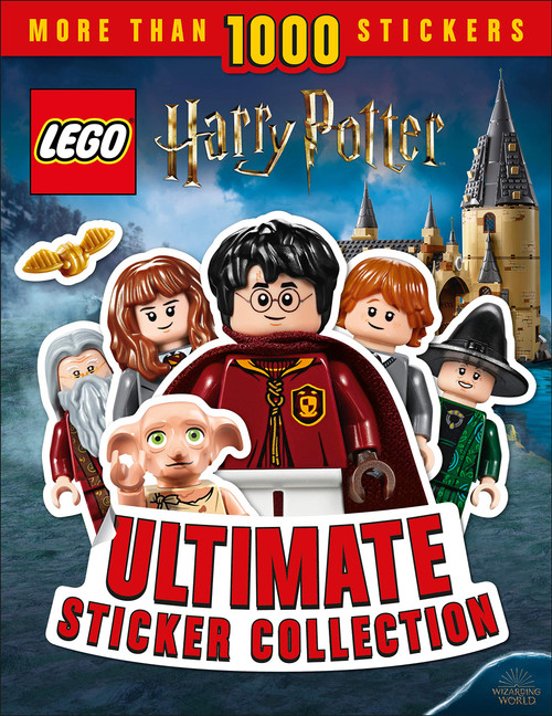 Ultimate Sticker Collection Lego Harry Potter Paperback