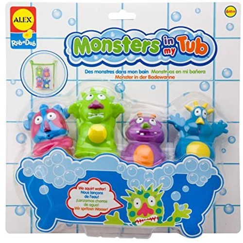 Rub A Dub Monsters In My Tub