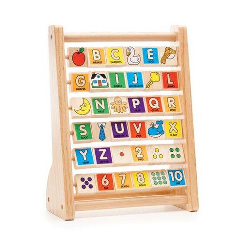 ABC-123 Wooden Abacus