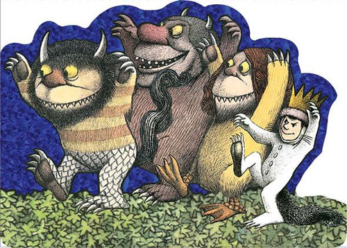 Where the Wild Things Are Foil Card