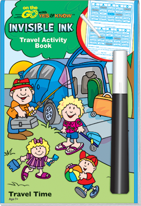 Magic Ink Fun Travel Activity Book