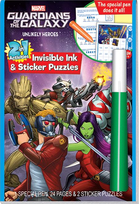 Magic Ink Fun Guardians of the Galaxy Unlikely Heroes