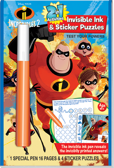 Magic Ink Fun Incredibles 2