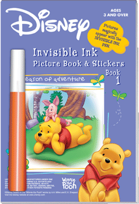 Magic Ink Fun Winnie The Pooh Book 1