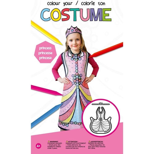 Colour Your Costume - Princess