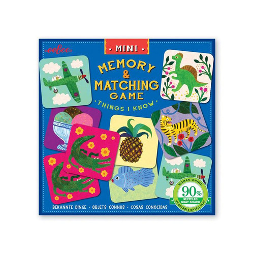 Things I Know Miniature Matching Game