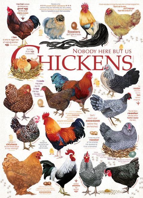 Chicken Quotes 1000 piece