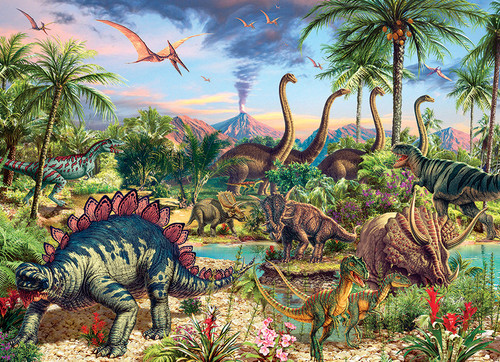 Prehistoric Party 350 piece Family