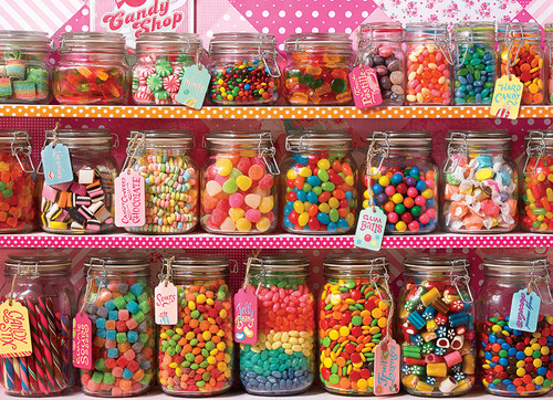 Candy Counter 350 piece Family