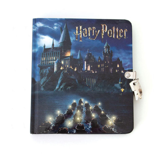Harry Potter Hogwarts at Night Invisible Ink Diary