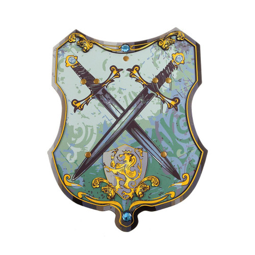 Blue Knight EVA Shield Blue/Gold