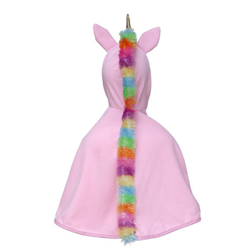 Unicorn Baby Cape Pink Size 12-24 months