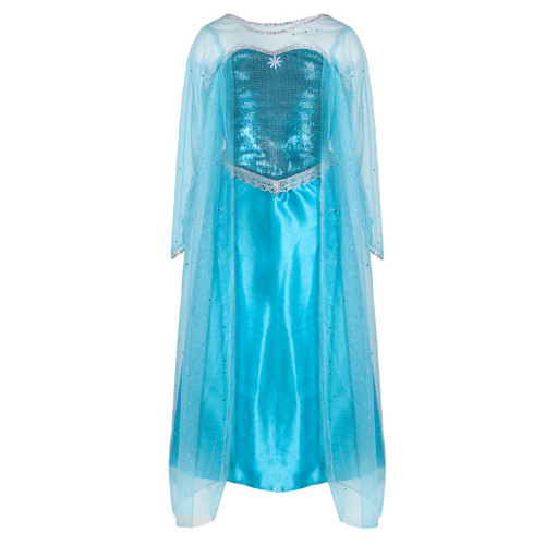 Ice Queen Dress With Cape Size 5-6