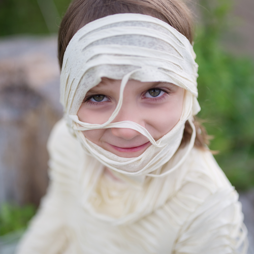 Mummy Costume with Pants Size 5-6