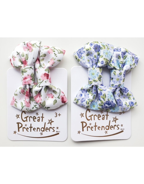 Boutique Liberty Beauty Bows Hairclips 2 piece Asst.