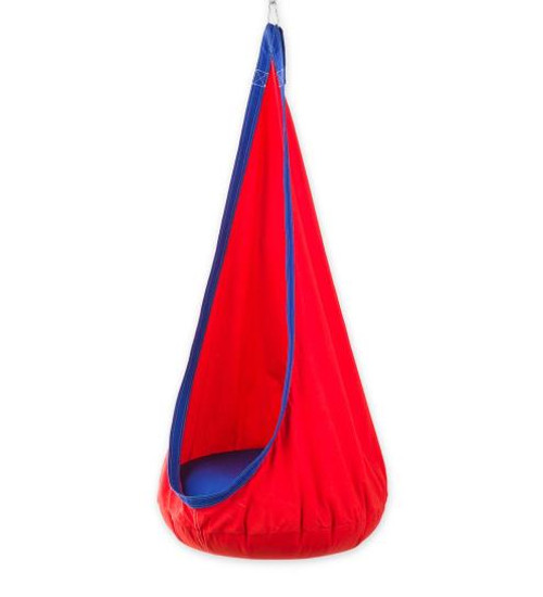 HugglePod Deluxe Hanging Chair Red
