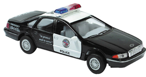 Die Cast Police Pull Back