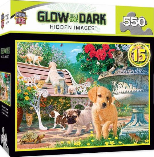Afternoon In The Park  G.I.D. 550 piece puzzle
