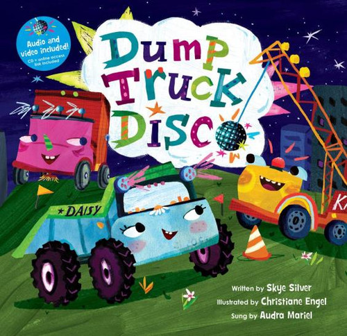Dump Truck Disco Hardcover with CD