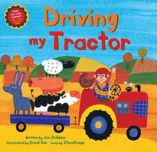 Driving My Tractor Paperback with CD