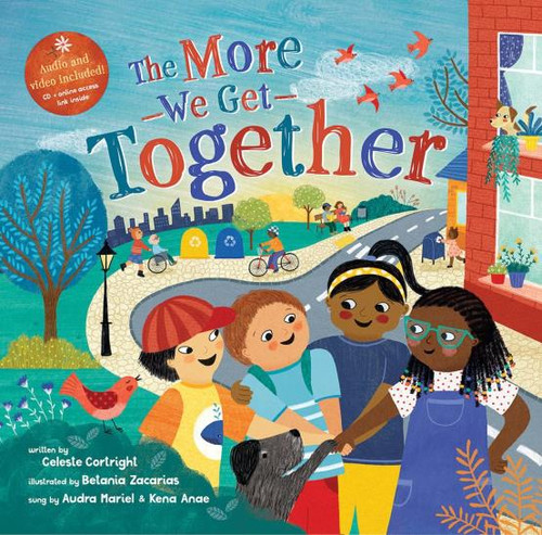 The More We Get Together Paperback with CD