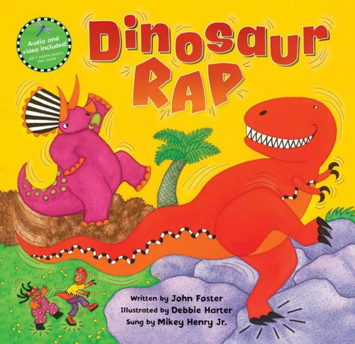 Dinosaur Rap Paperback with CD